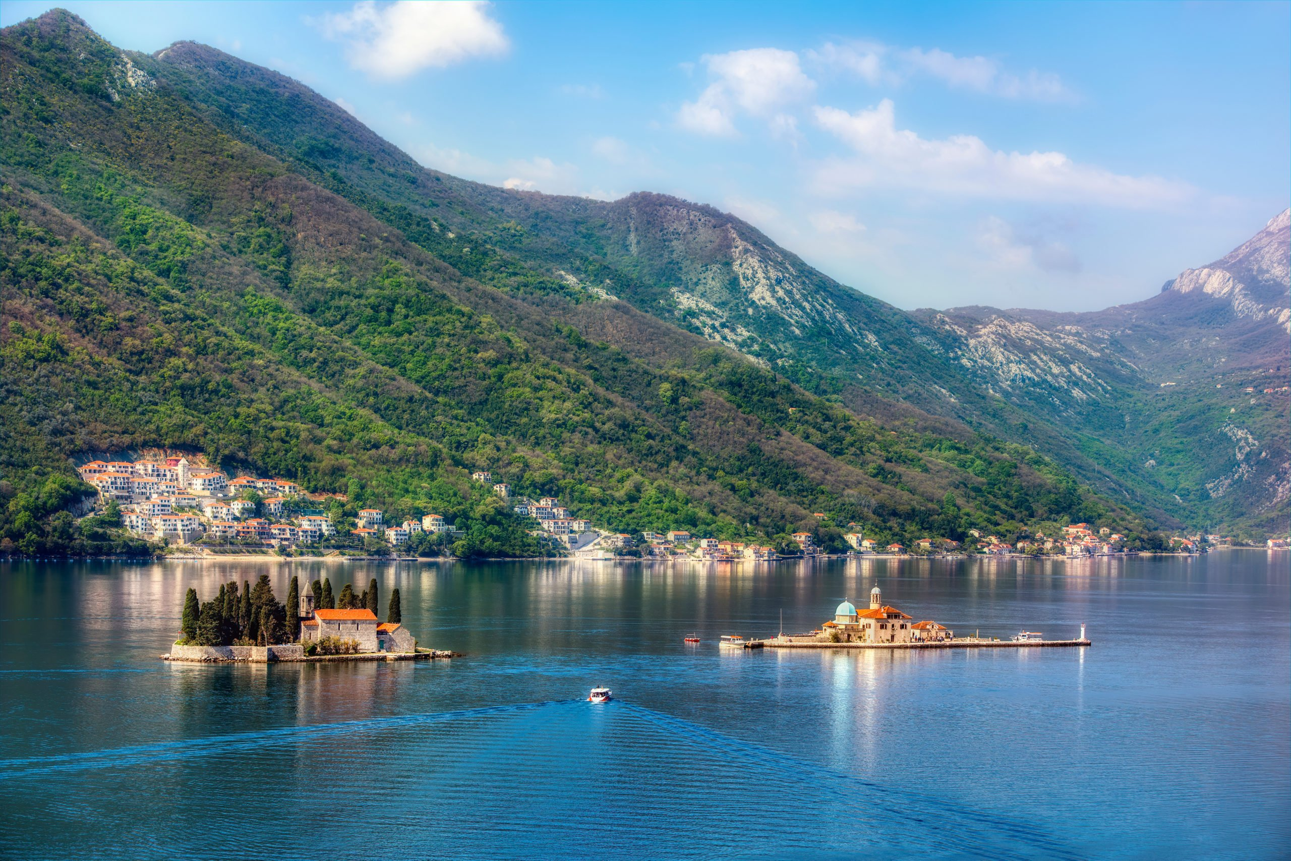 Admire The Panoramic Views Of St George Islets On The Montenegro Day Tour From Dubrovnik