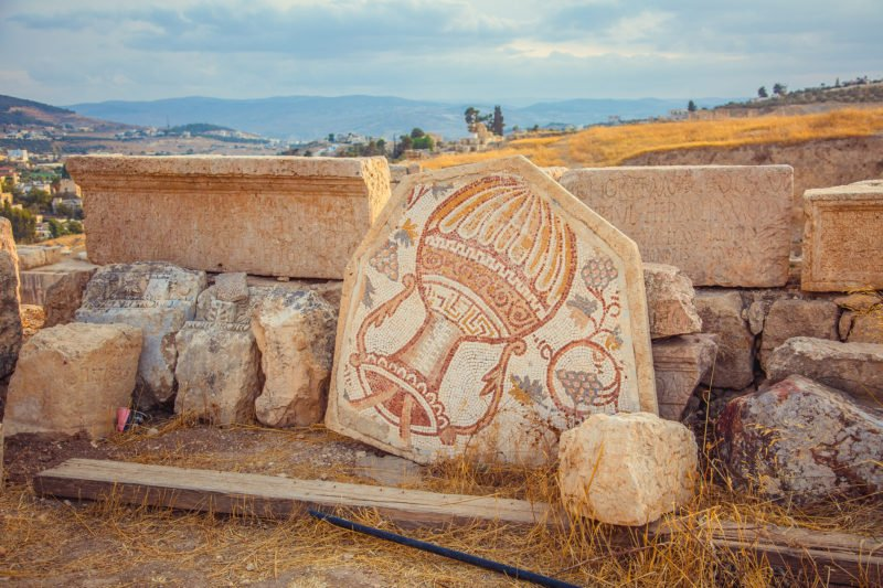 Admire The Roman Mosaics On The Highlights Of Jordan 4 Day Tour From Amman Or The Dead Sea