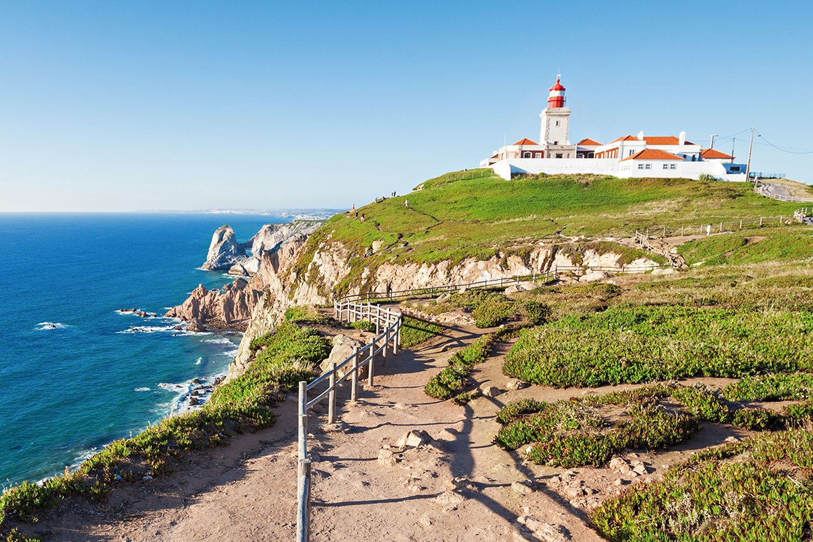 Admire The Beautiful Views On The Sintra, Pena Palace, Cascais & Estoril Half Day Tour From Lisbon