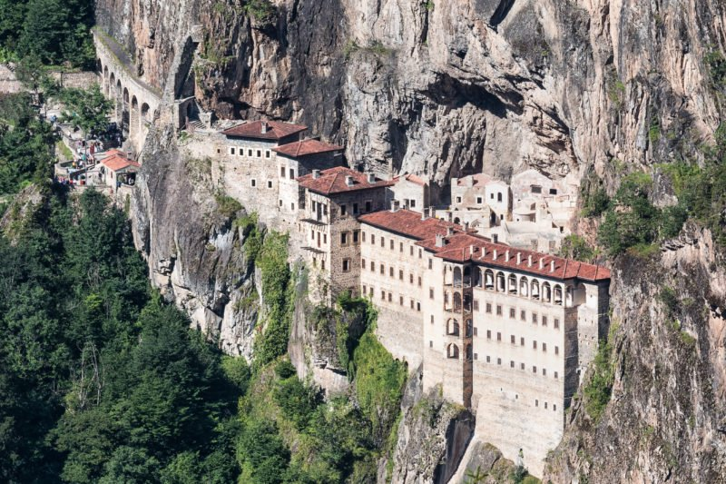 Admire The Beincredible Sumela Monastery On The Sumela Monastery Tour From Trabzon
