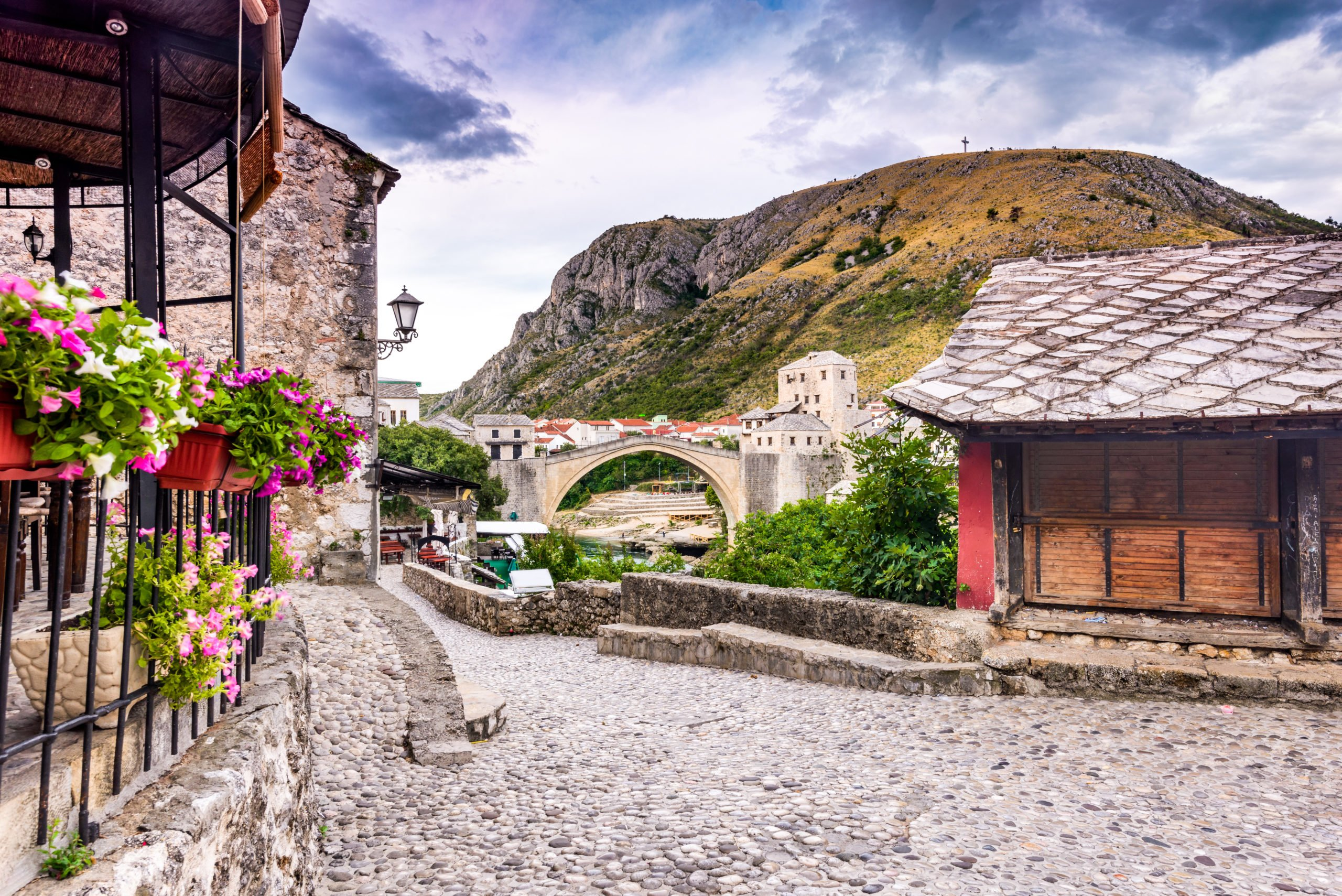 Admire The Famous Mostar Bridge During The Mostar And Kravice Tour From Dubrovnik