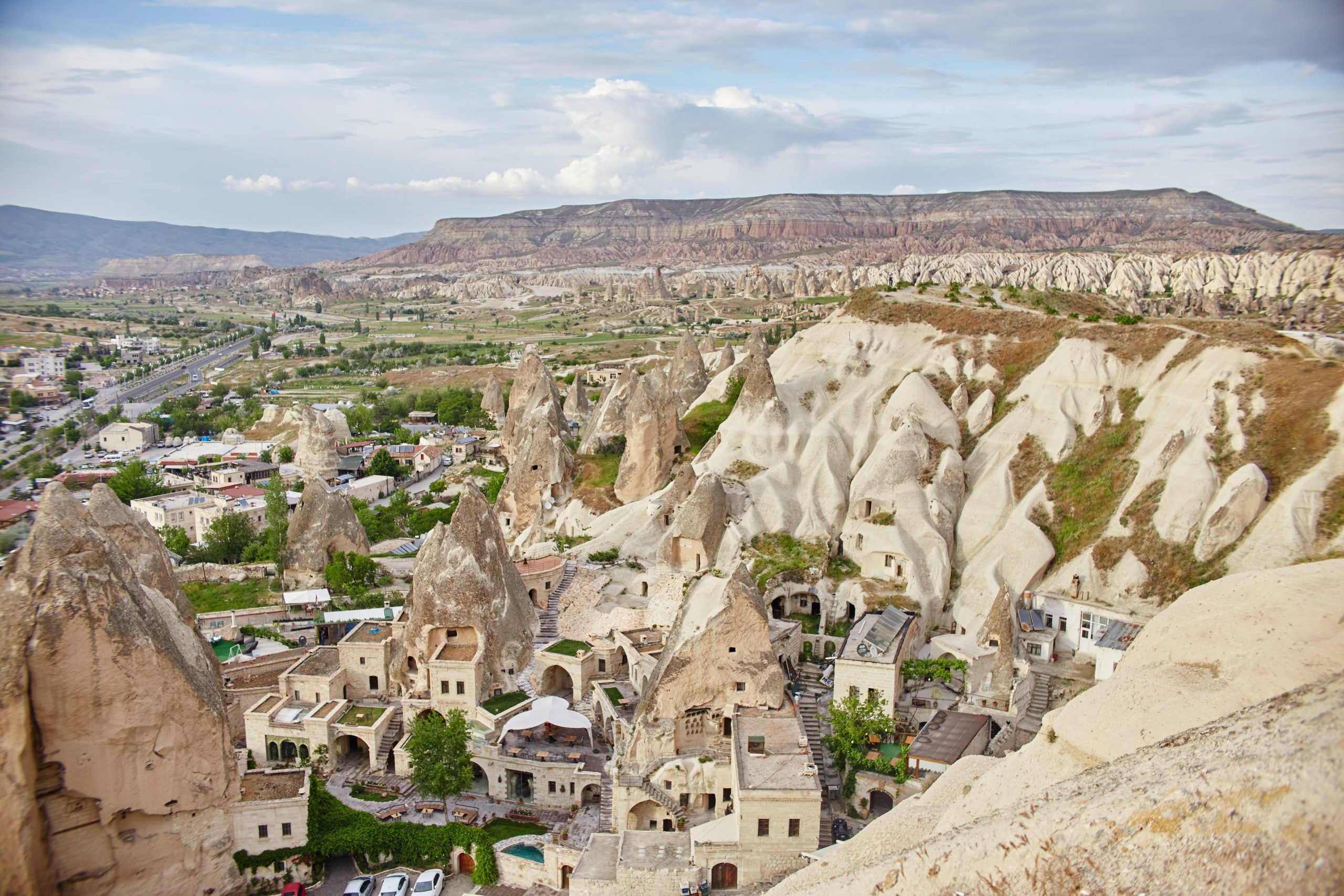Admire The Rock Houses Caved In Stone In Goreme On The Cappadocia 3 Day Tour From Antalya