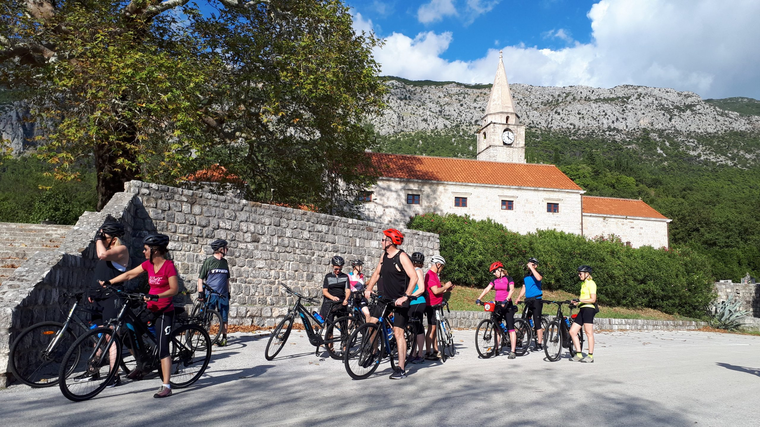 Admire The Views During The Bike And Wine Tasting Tour From Dubrovnik