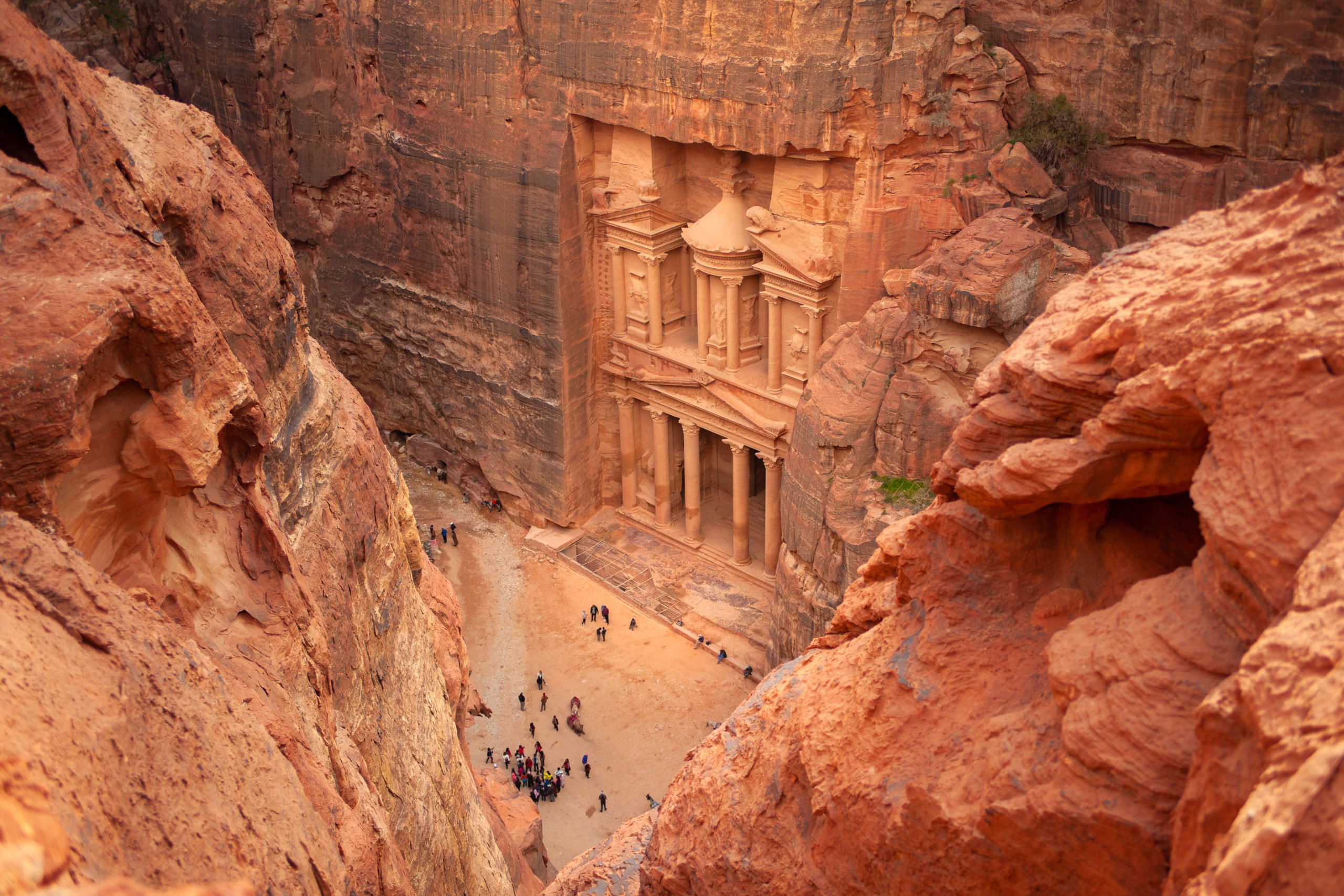 Climb Up To The Monastery On Day 2 Of Your Petra 2 Day Tour From Aqaba