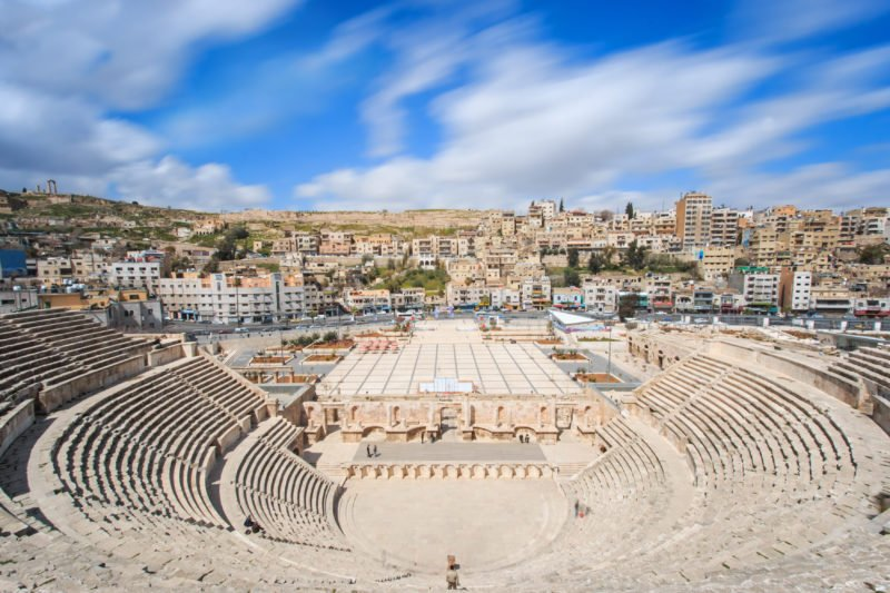 Discover Ammans Capital On The Highlights Of Jordan 4 Day Tour From Amman Or The Dead Sea