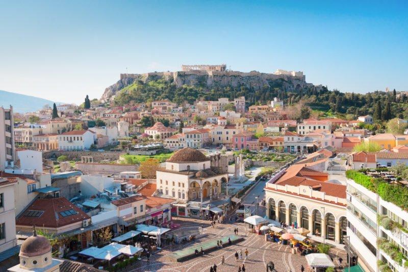 Discover Athens On A E-bike