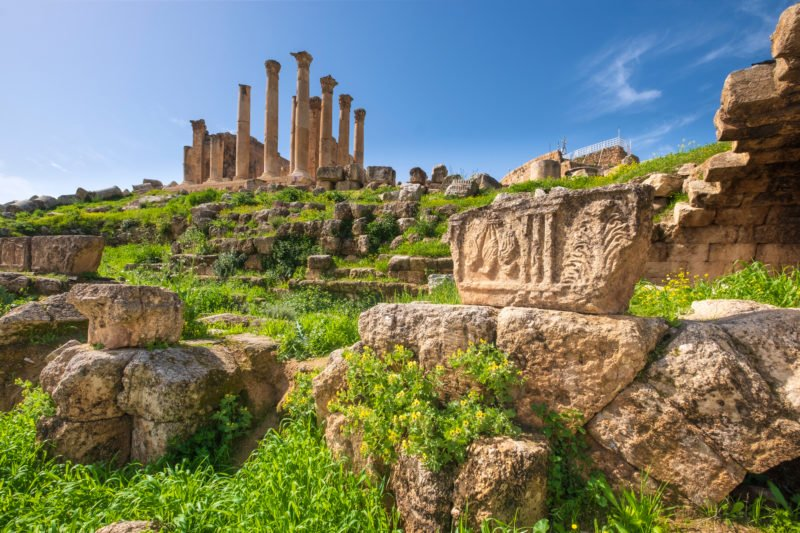 Discover Jerash On Your Highlights Of Jordan 4 Day Tour From Amman Or The Dead Sea