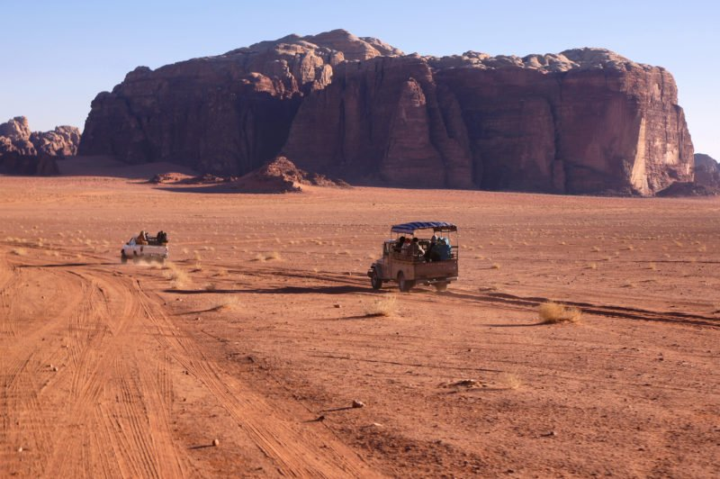 Discover Wadi Rum Desert On A Jeep Safari On The Petra And Wadi Rum 2 Day Tour From Aqaba