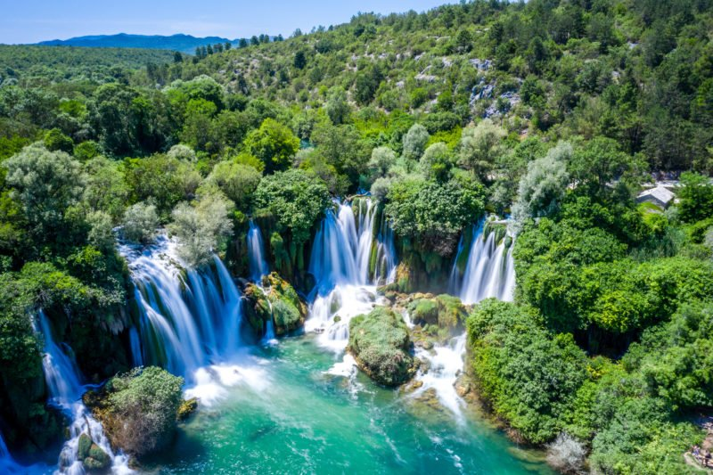 Discover The Kravice Waterfalls On The Mostar And Kravice Tour From Dubrovnik
