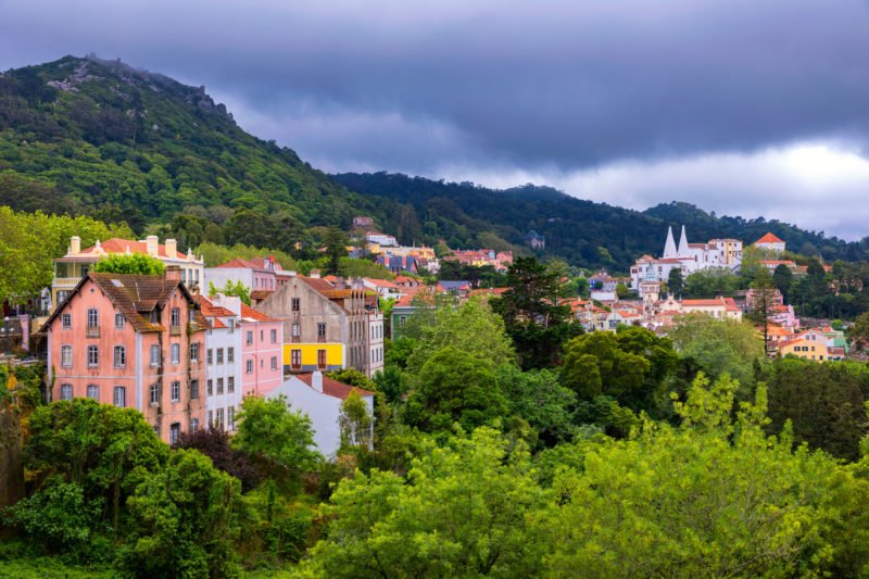 Discover The Unseco World Heritage Of Sintra On The Sintra, Pena Palace, Cascais & Estoril Half Day Tour From Lisbon