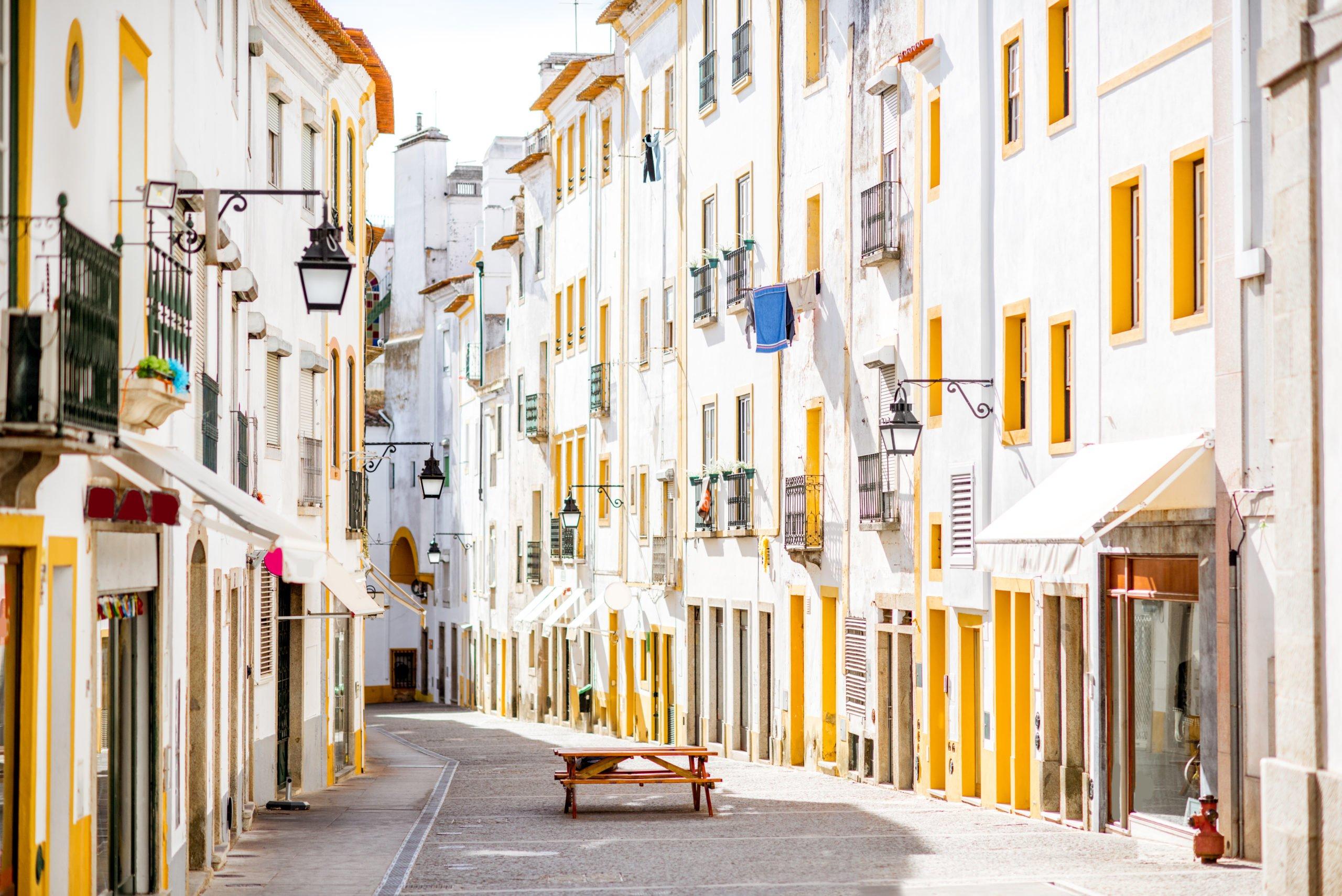 Discover The Beautifull White Houses Of Evora On Evora Wine Tasting Tour From Lisbon_59