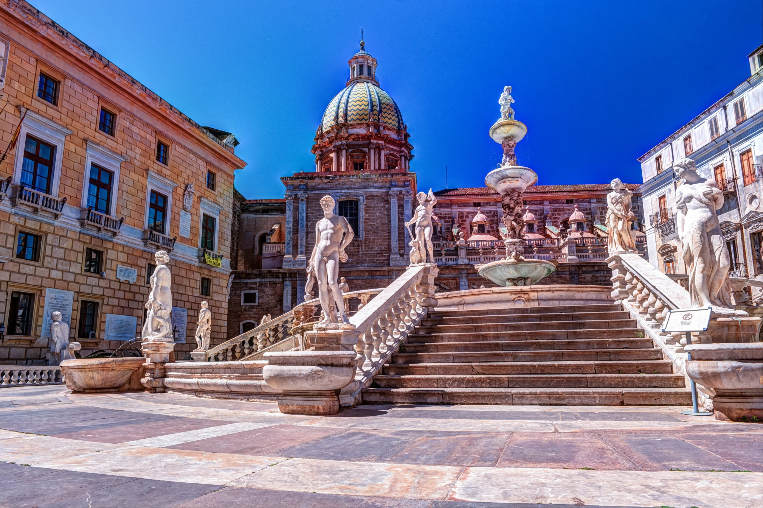 Discover The City Of Palermo On The 8 Days Highlights Of Sicily Tour Package