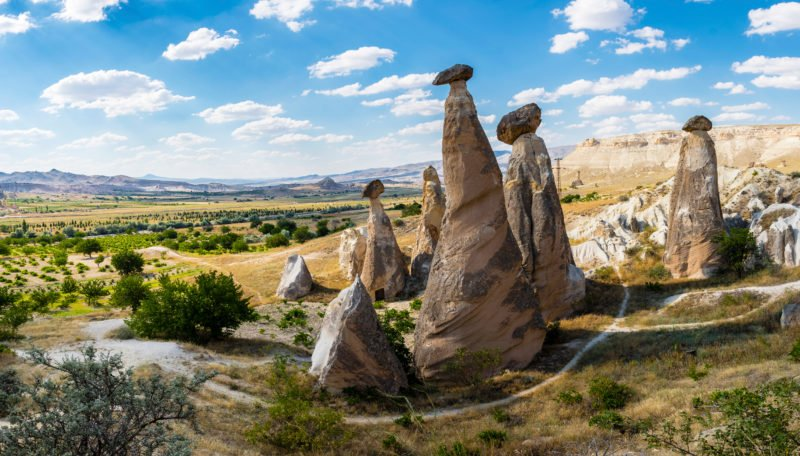 Discover The Extraordinary Stone Formations Of Cappadocia On The Cappadocia 3 Day Tour From Istanbul