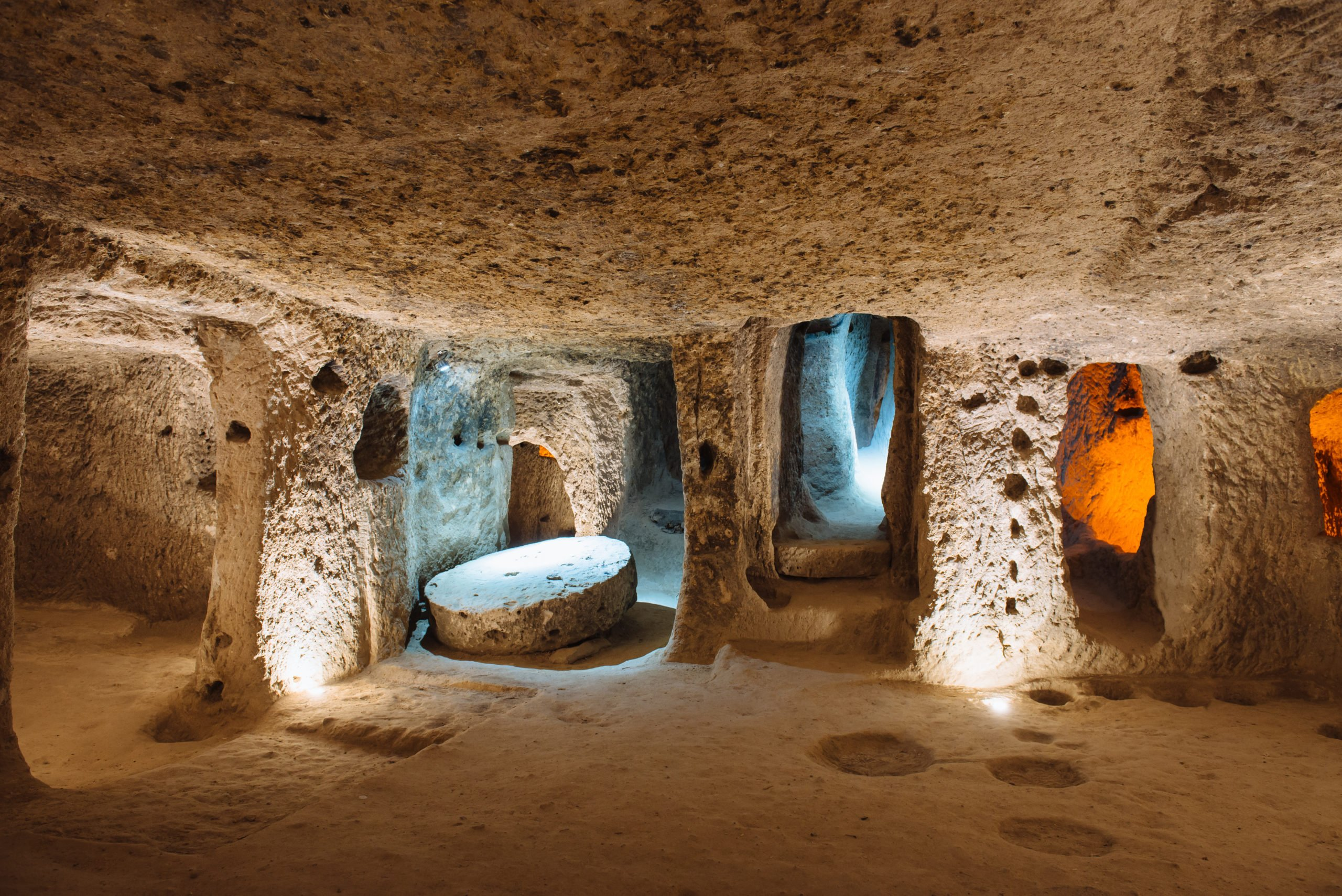Discover The Famous Underground Cities Of Cappadocia On The Cappadocia 3 Day Tour From Istanbul