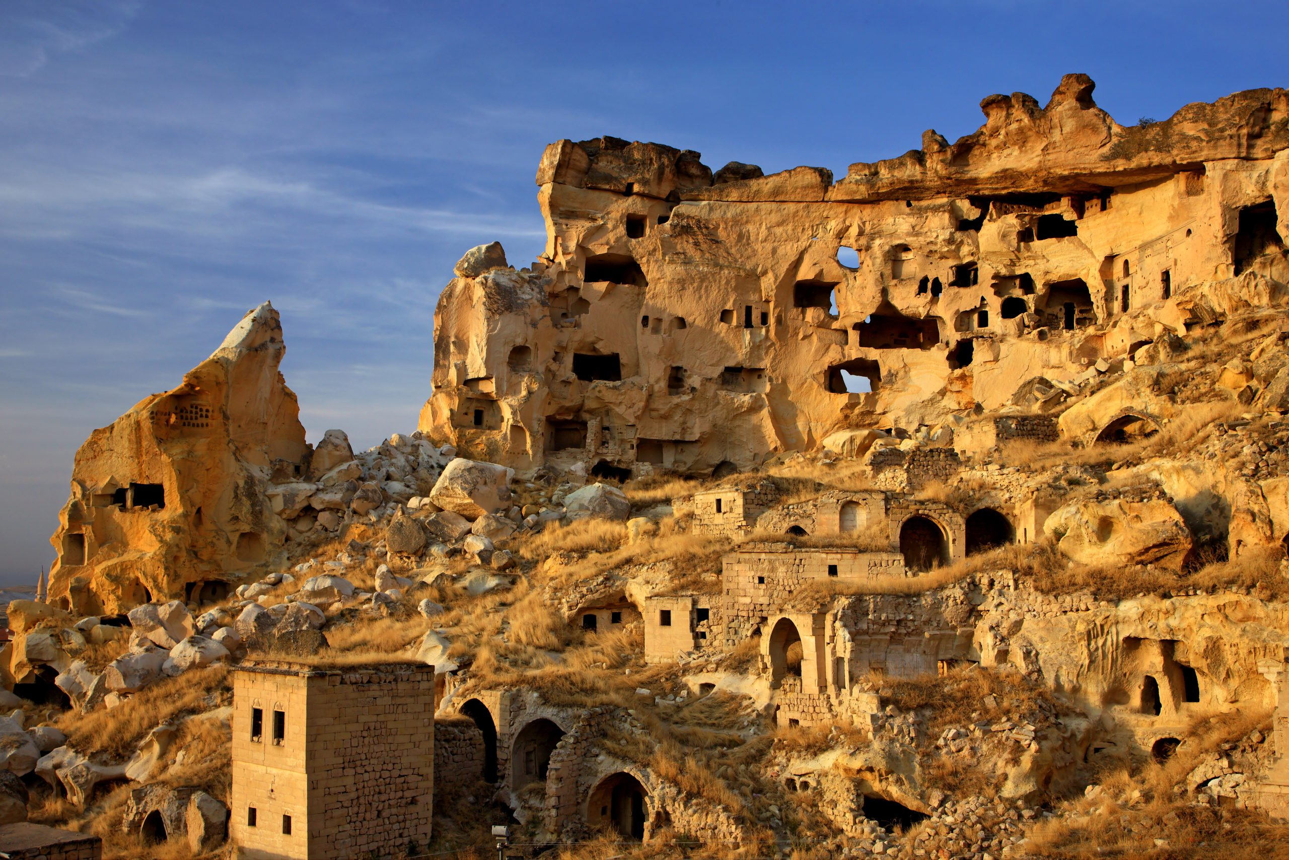 Discover The Labyrinth Of Cavusin Village On The Southern Cappadocia Tour From Goreme
