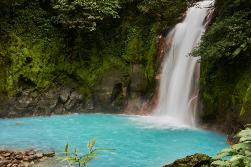 Discover The Natural Turquoise Colored Celeste River