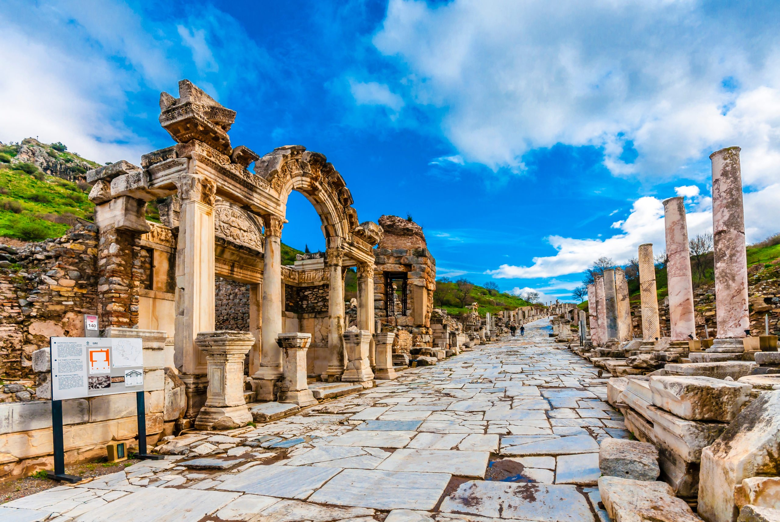 Discover The Ruins Of Ancient Ephesus On The Ancient Ephesus Tour From Selcuk And Kusadasi