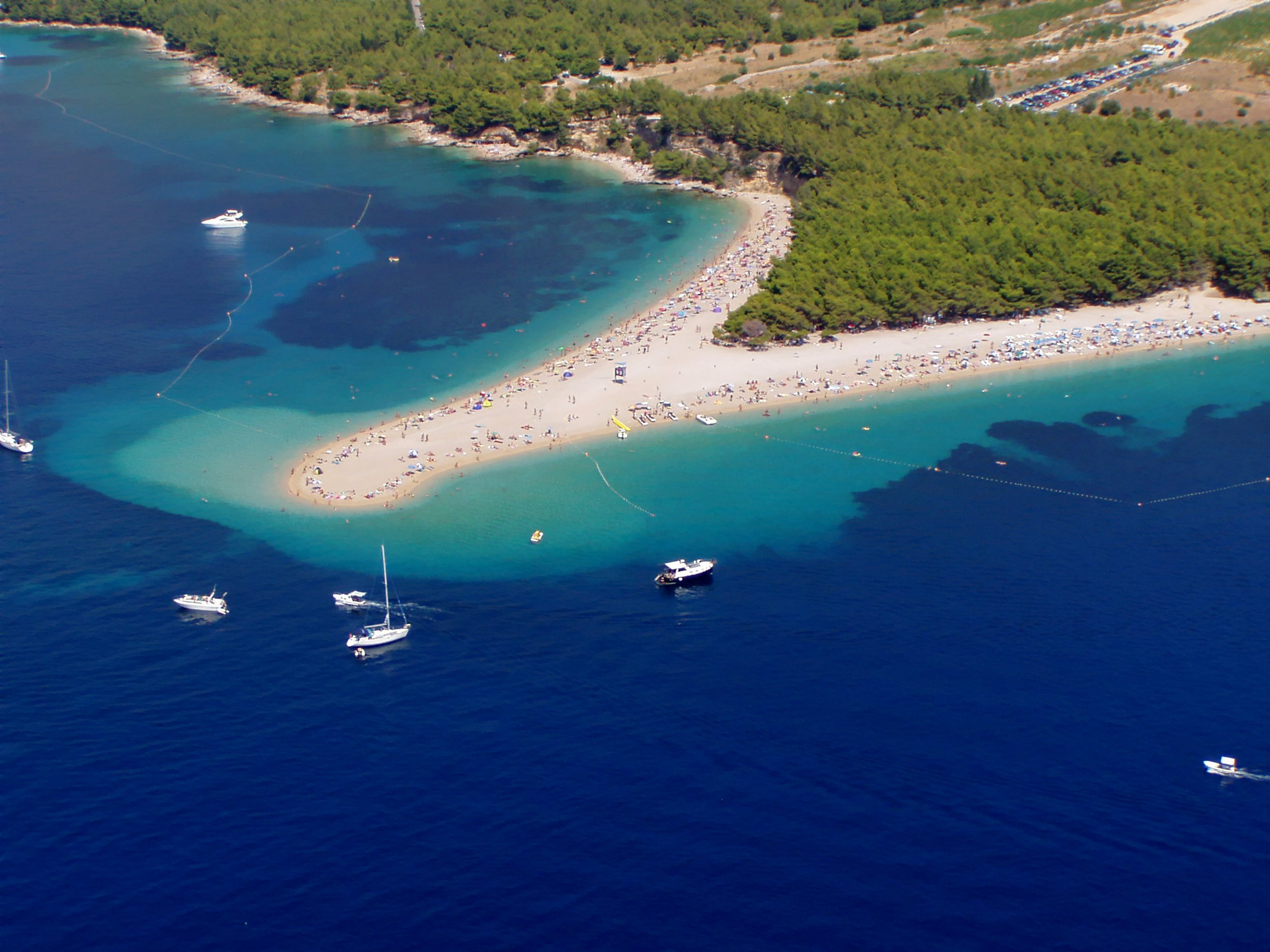 Enjoy A Day Cruise To Golden Horn Beach On The Split 3 Day Tour Package