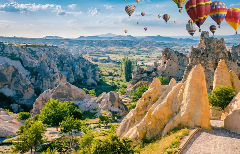 Enjoy The Beautiful Views Over Cappadocia On The Cappadocia 3 Day Tour From Antalya