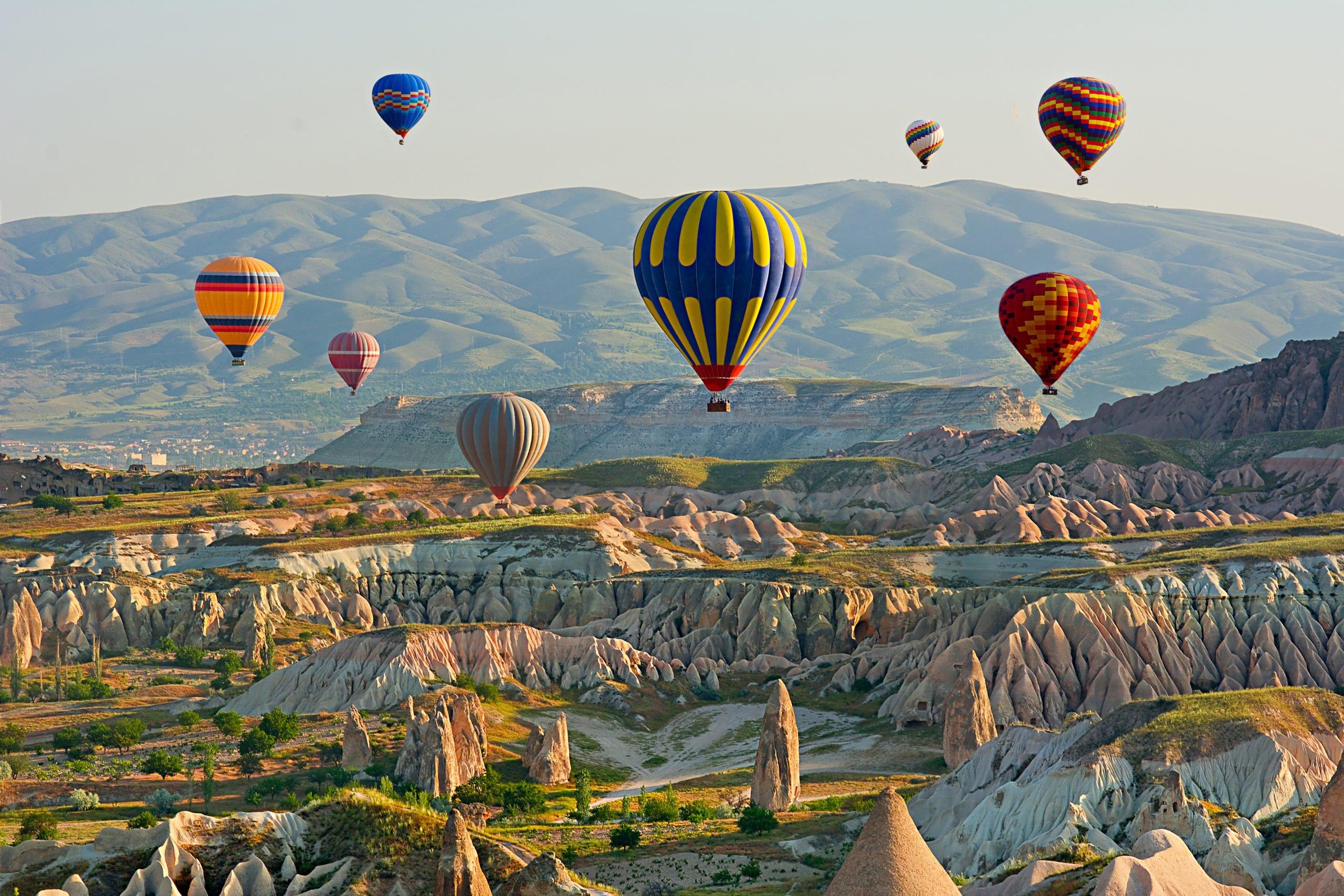 Enjoy The Beautiful Views Over Goremen On The Cappadocia Underground City Tour From Goreme