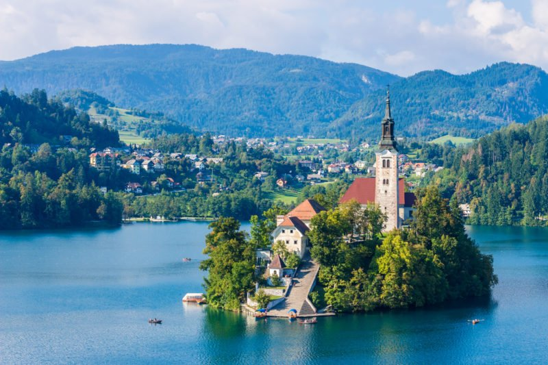 Enjoy The Beautiful Views Over Lake Bled