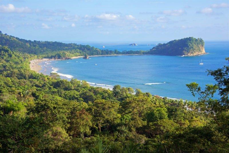 Enjoy The Views Over Manuel Antonio On The Tortuguero, Arenal & Manuel Antonio 10 Day Adventure Package Tour