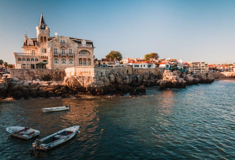 Explore Cascais On The Sintra, Pena Palace, Cascais & Estoril Half Day Tour From Lisbon