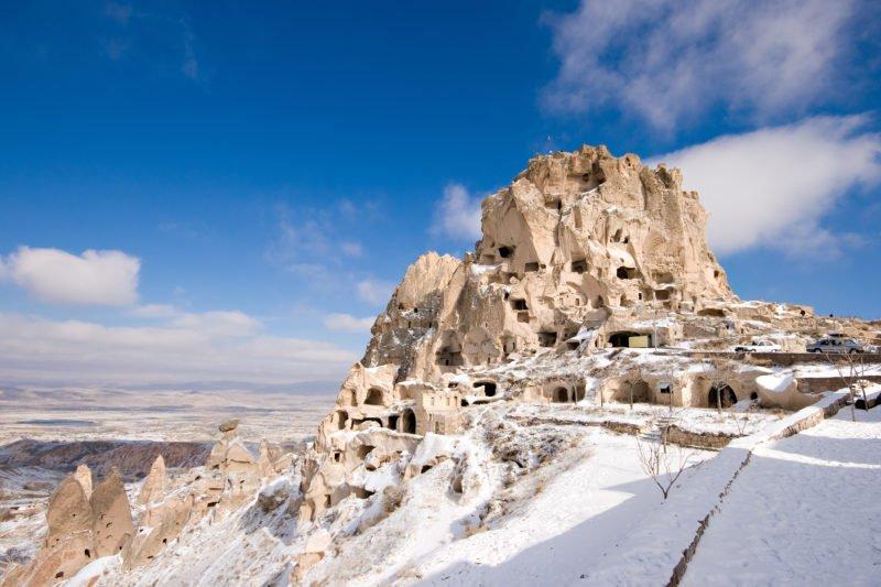 Explore Uchisar Castle On The Cappadocia 3 Day Tour From Antalya