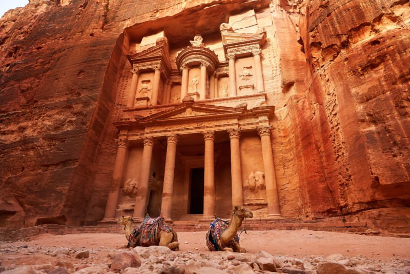 Explore The Nabetean City Of Petra On The Highlights Of Jordan 4 Day Tour From Amman Or The Dead Sea