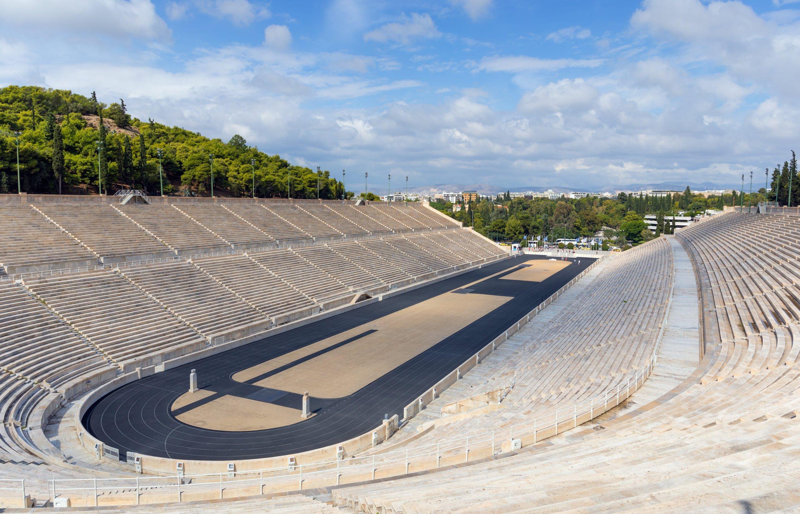 Explore The Panathenaic Stadium On The Athens E-bike Tour