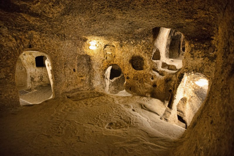 Explore The Underground City Of Derinkuyu On The Cappadocia Underground City Tour From Goreme