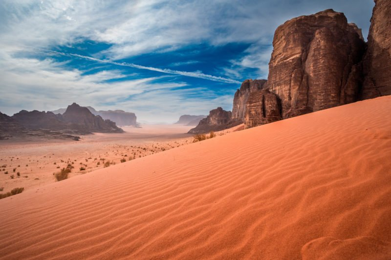 Explore The Beauty Of Wadi Rum During A Jeep Safari On The On The Petra And Wadi Rum 3 Day Tour From Aqaba