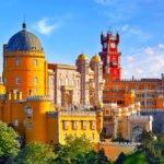 Explore The Marvelous Palace On The Sintra, Pena Palace, Cascais & Estoril Half Day Tour From Lisbon