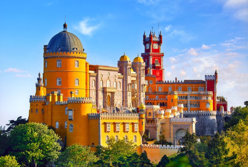 Explore The Marvelous Palace On The Sintra, Pena Palace, Cascais & Estoril Half Day Tour From Lisbon