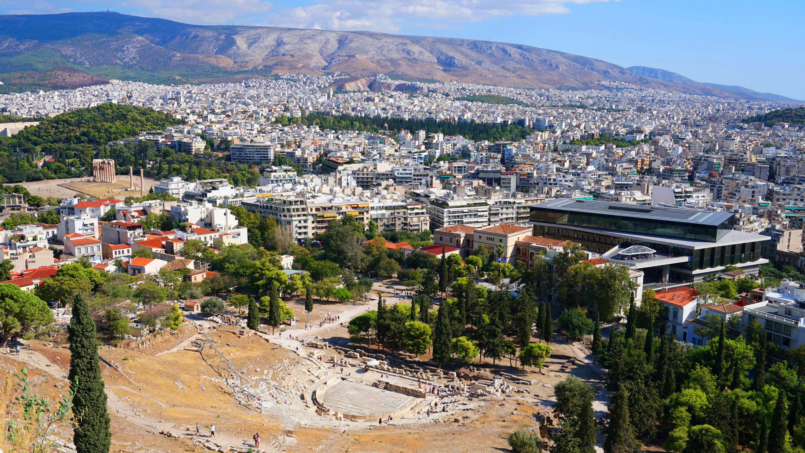 Explore The Theater Of Dyonisos On The Athens E-bike Tour