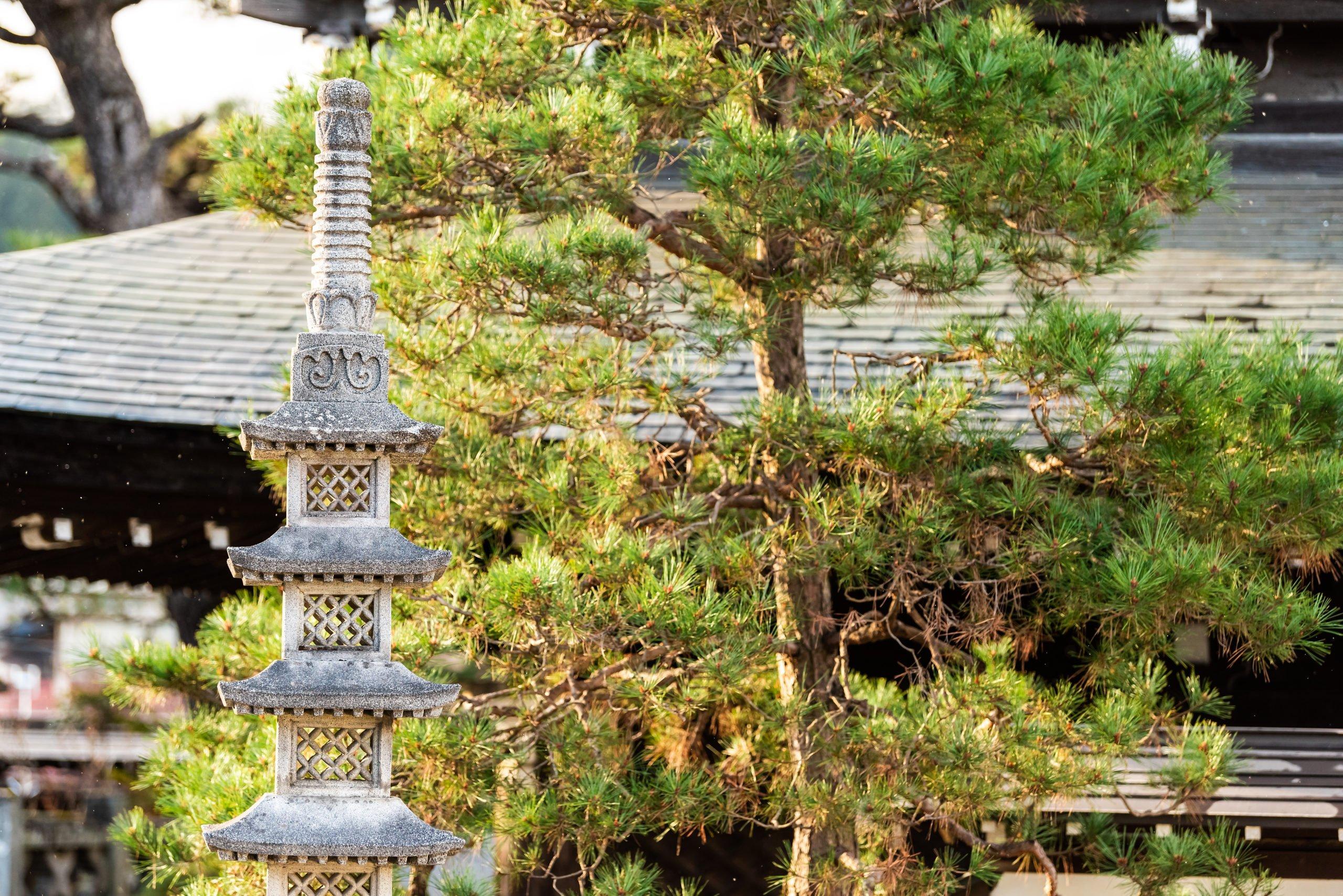 Pagoda On The Higashiyama Walking Course From Takayama