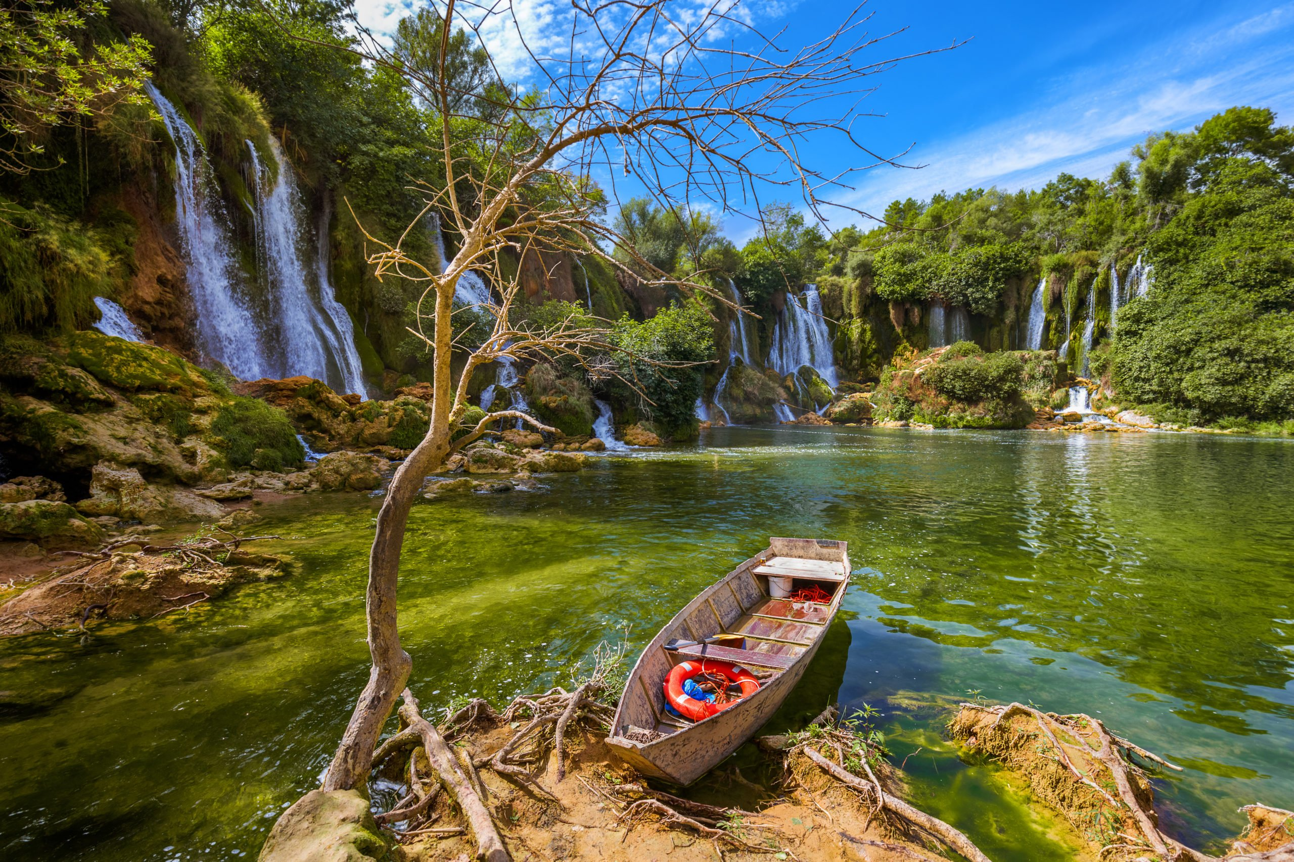 Relax At The Kravice Waterfalls On The Mostar And Kravice Tour From Dubrovnik