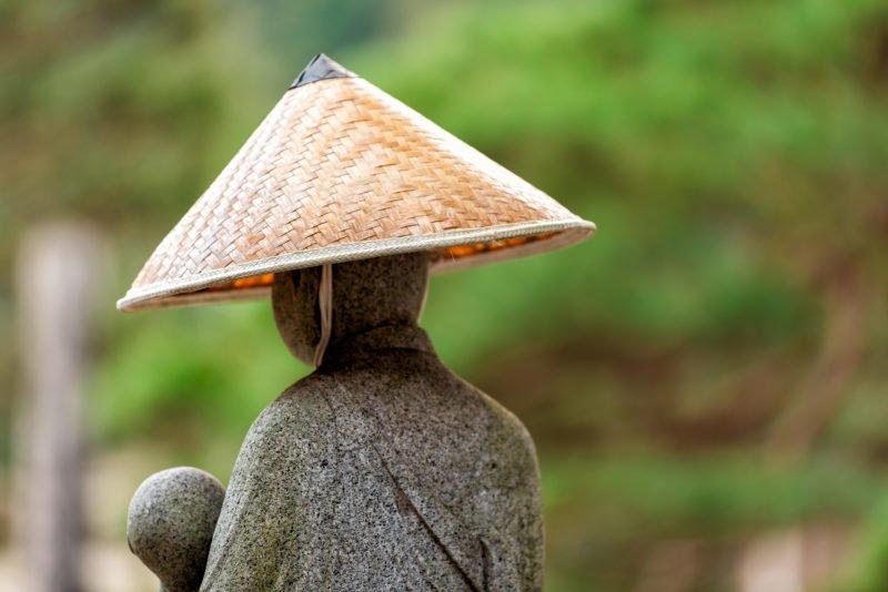See The Beautiful Stone Statue At The Hokkeji Temple Higashiyama Walking Course From Takayama