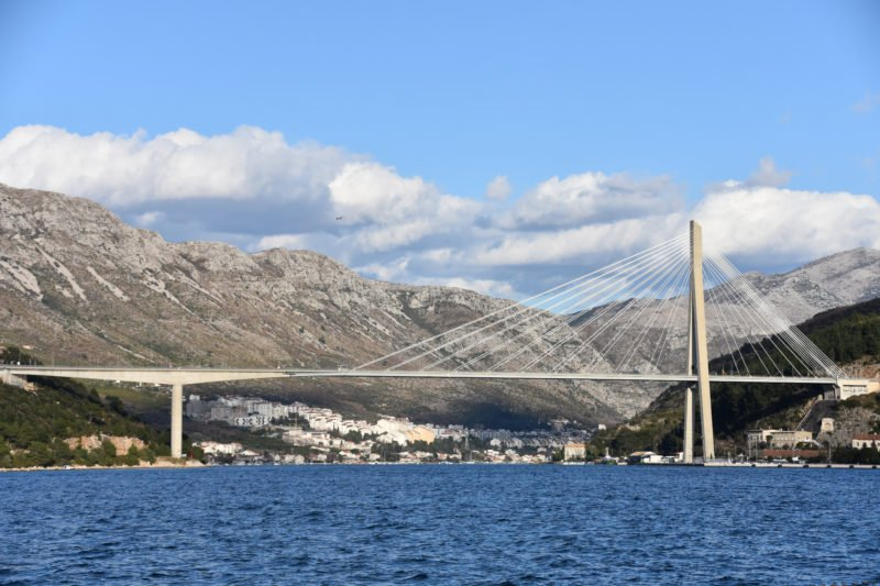 Stop At The Famous Franjo Trudjman Bridge And Enjoy The Views During The Dubrovnik Highlights & Cavtat Shore Excursion