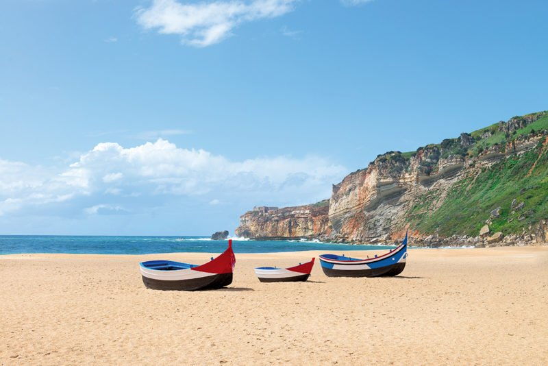 Stop In The Surfer Town Of Nazare On The Fatima Tour From Lisbon