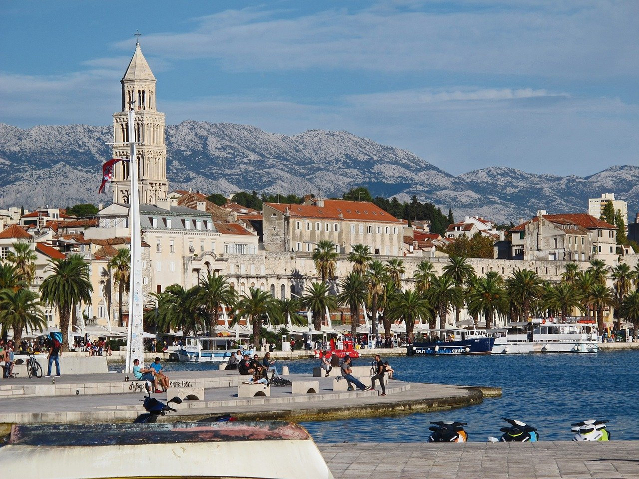 Stroll Over The Riva Promenade In Split During The 3 Day Split Tour Package_39
