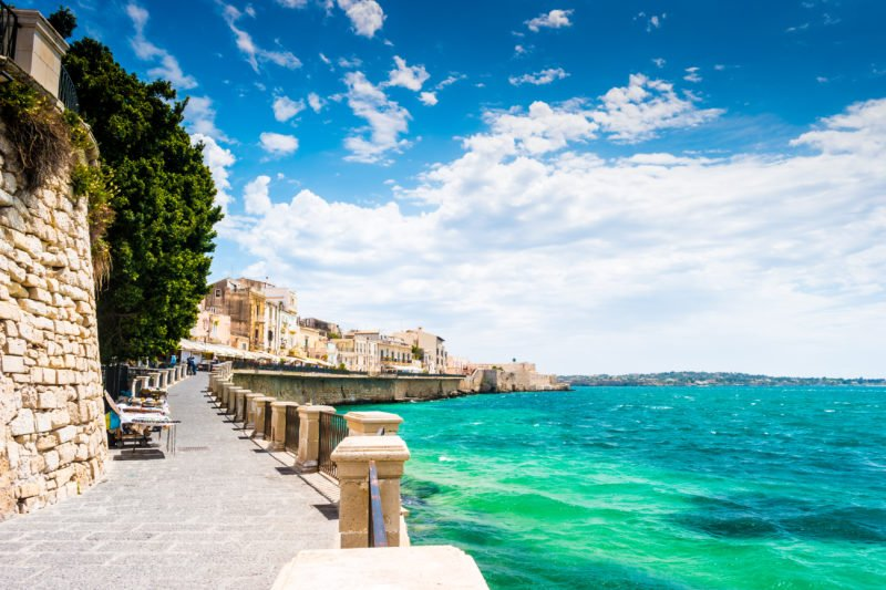 Stroll Through The Picturesque Old Town Of Ortigia During Your 8 Days Highlights Of Sicily Tour Package