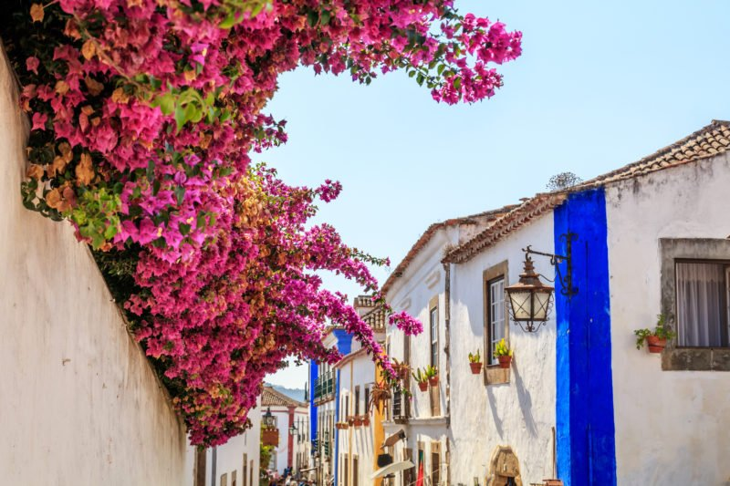 Stroll Through The Picturesque Streests Of Obidos On The Fatima Tour From Lisbon