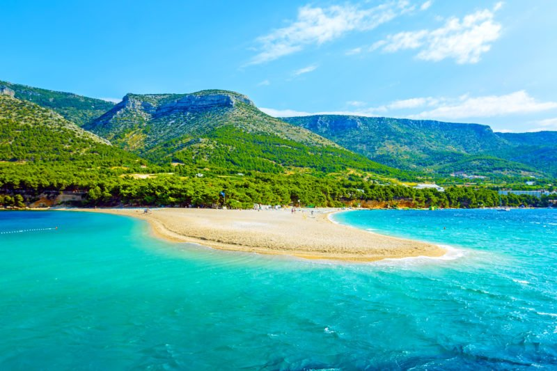 Take A Day To Relax At The Golden Horn Beach During The Split 3 Day Tour Package