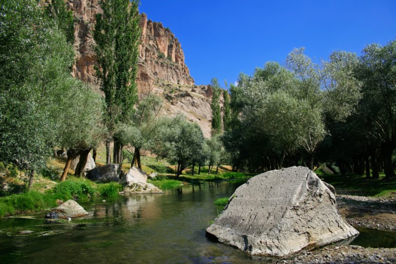 Take A Hike In The Ihlara Valley On The Cappadocia Underground City Tour From Goreme