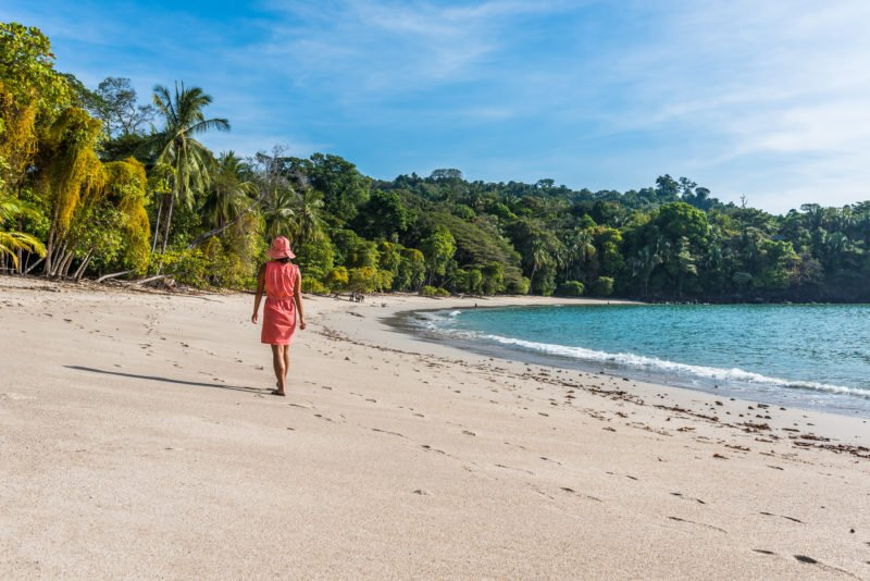 Take A Walk At The Beautiful Beaches Of Manuel Antonio On The Tortuguero, Arenal & Manuel Antonio 10 Day Adventure Package Tour