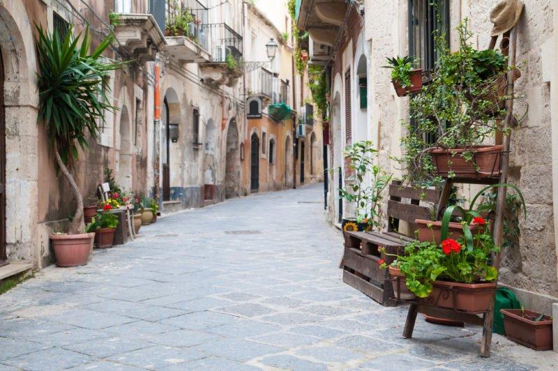 Take A Walk Through The Old City Of Ortigia