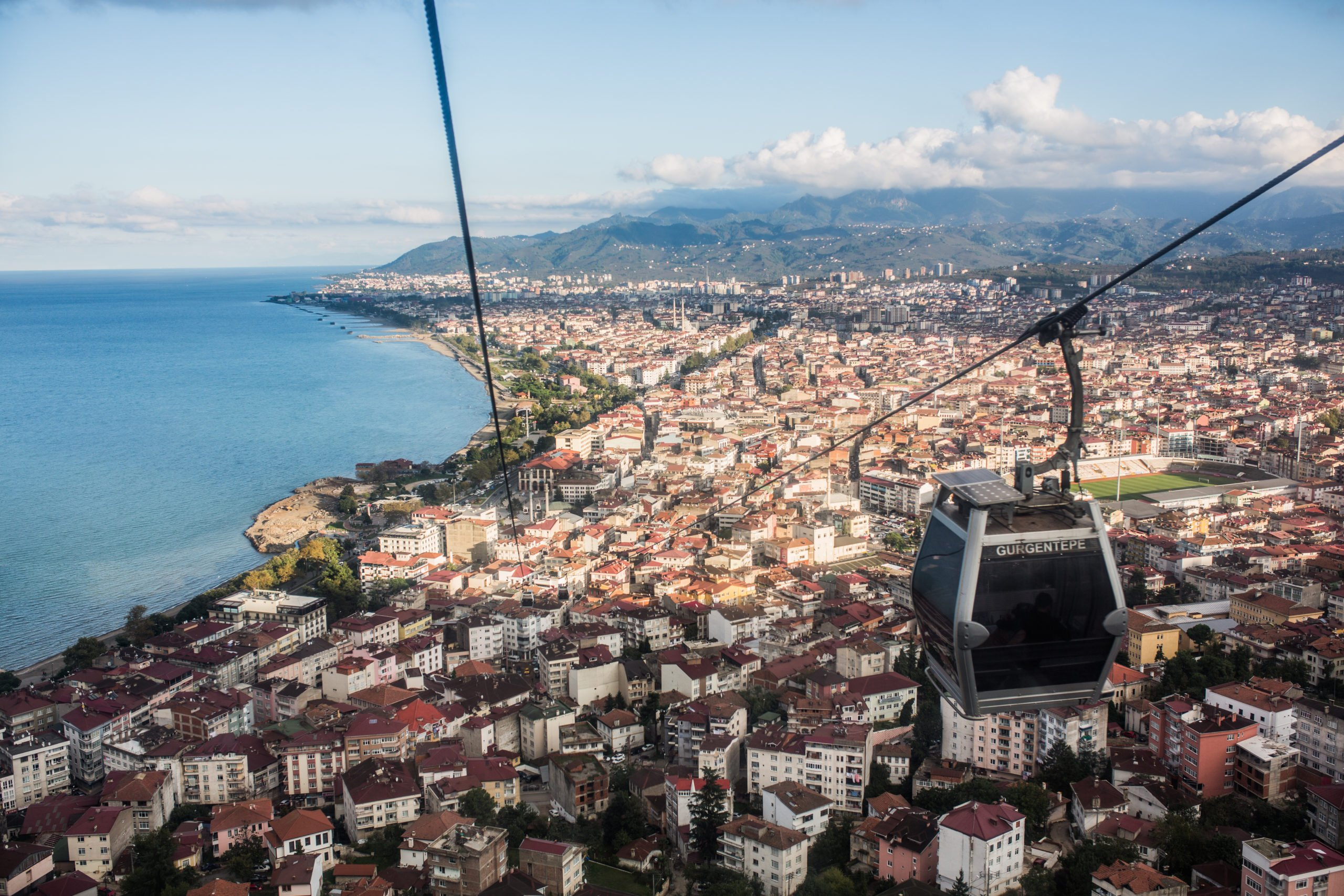 Take The Cable Car To A Panoramic View Point On The Insider Trabzon City Tour