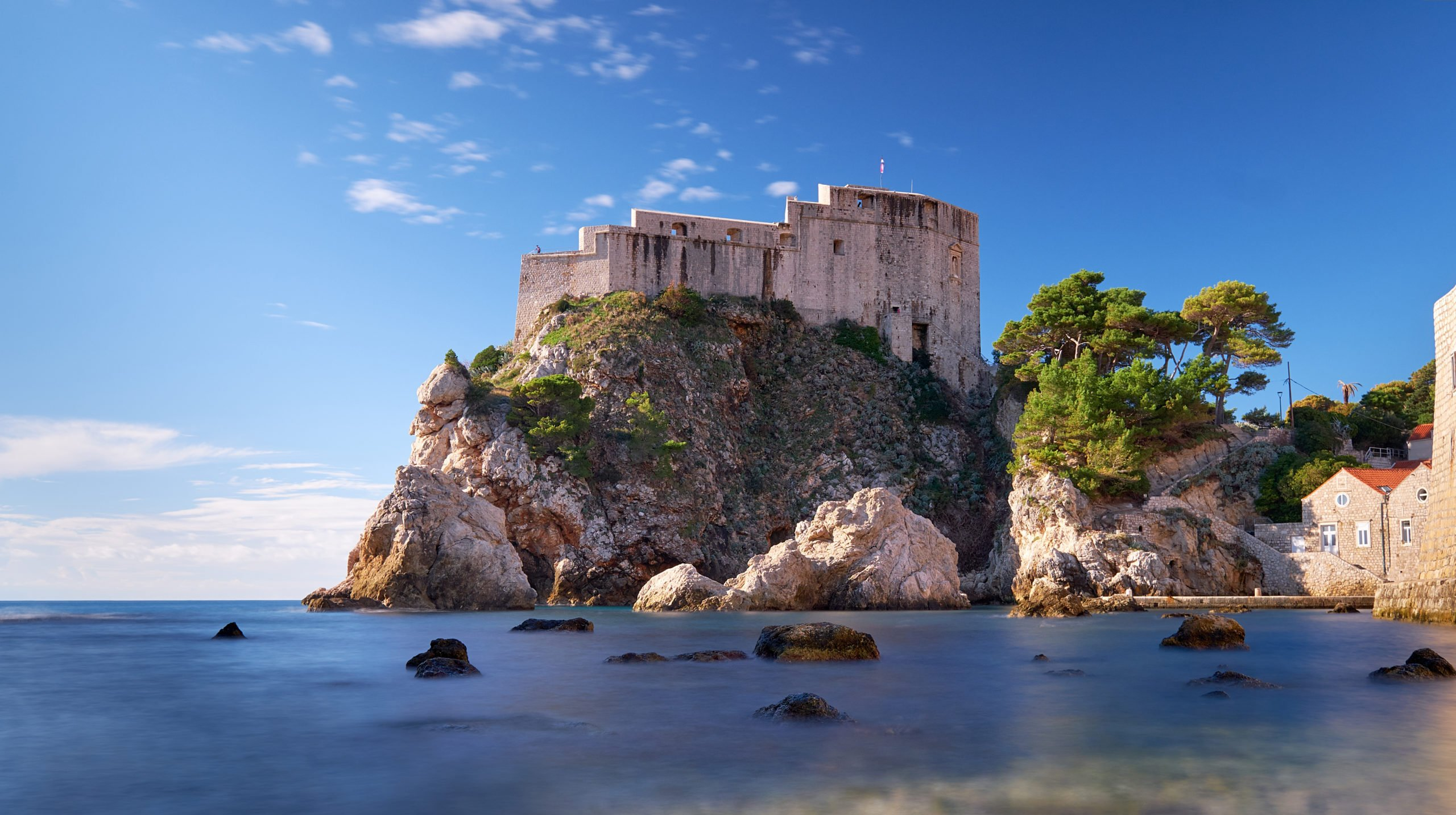 Visit Lovrijenac Fortress- The Got Film Location Of The Red Keep During The Game Of Thrones And Dubrovnik Shore Tour