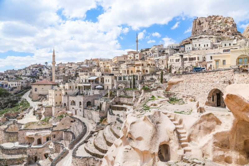 Visit Uchisar Castle On The Southern Cappadocia Tour From Goreme